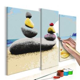 Pictura pe numere - Plaja de Vara