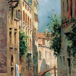 Poster decorativ Reflexii venetiene