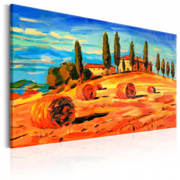 Tablou canvas August in Toscana