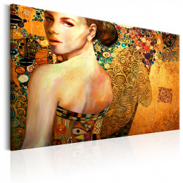 Tablou canvas Femeia de Aur