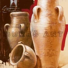 Tablou decorativ ''Vase de lut'' inramat