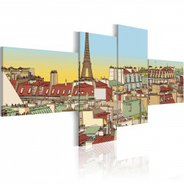 Tablou - Fabulous Paris