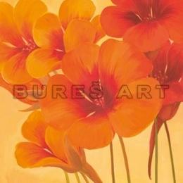 Tablou ''Flori frantuzesti de lotus'' inramat
