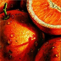 Tablou Portocale inramat