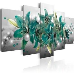 Tablou - Turquoise Bouquet