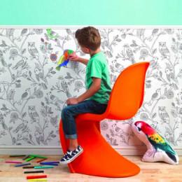 Tapet de colorat pentru copii