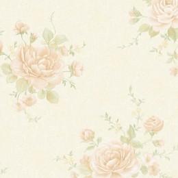 Tapet vinilic clasic cu roze