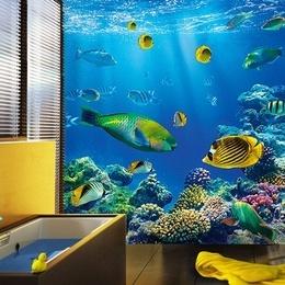 Fototapet Lumea subacvatica