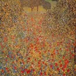 Tablou Pajistea de Klimt, inramat