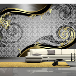 Fototapet - Golden snail