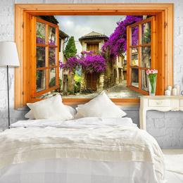 Fototapet fereastra deschisa- Italian Views