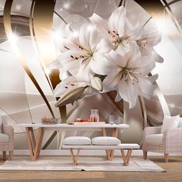 Fototapet 3D floral - Lily Bunch