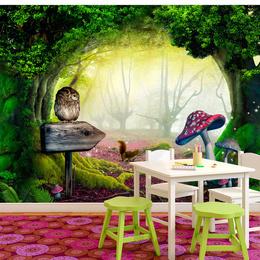 Fototapet - Owlish corner
