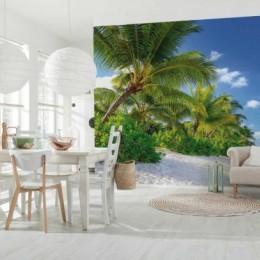 Fototapet peisaj plaja Reunion 368 x 254 cm