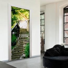 Fototapet pentru ușă - Stony Stairs