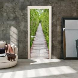Fototapet pentru ușă - The Path of Nature