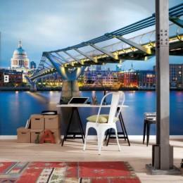 Fototapet urban Podul Millennium