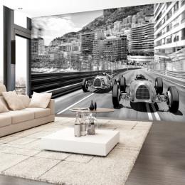 Fototapet vintage Cursa de la Monte Carlo