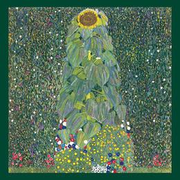 Poster Floarea soarelui de Klimt , 60x80 cm
