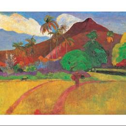 """Poster """"Peisaj tahitian"""""""