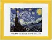 "Poster Van Gogh ""Noapte instelata"" - inramat"