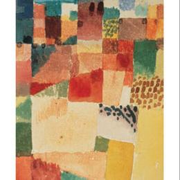 """Tablou abstract Klee """"Hammamet"""""""