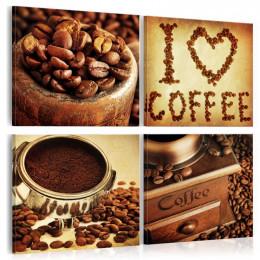 Tablou Cafeaua- momente placute