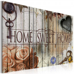 Tablou canvas Home sweet home