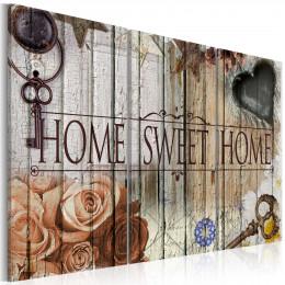Tablou canvas Home sweet home