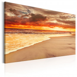 Tablou canvas Rasarit frumos pe plaja II