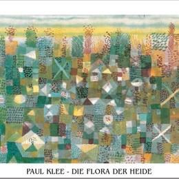 "Tablou decorativ Klee 'Ierburi"""