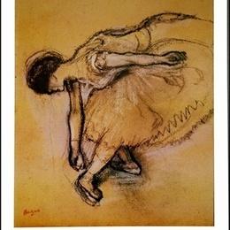 """Tablou Degas ''Dansatoarea"""""""