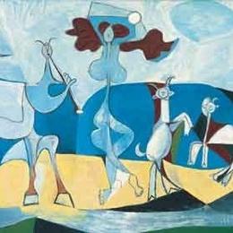 """Tablou Picasso """"La joie de vivre"""""""