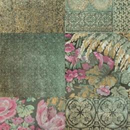 Tapet vinil cu patternuri florale