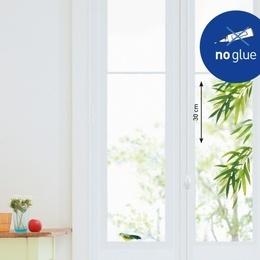 Sticker de geam '' Ramurele de salcie si o pasare''