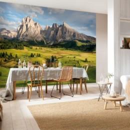 Fototapet peisaj Muntii Alpi