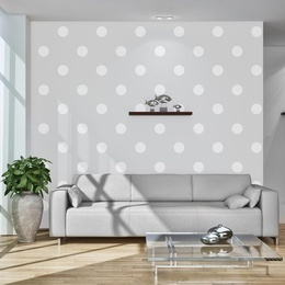 Fototapet - Cheerful polka dots