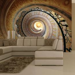 Fototapet - Decorative spiral stairs