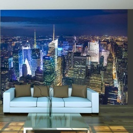 Fototapet - Manhattan - night