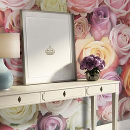 Fototapet - Pastel roses