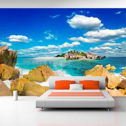 Fototapet peisaj marin Retragerea de vara