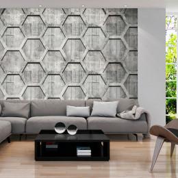 Fototapet - Platinum cubes