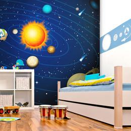 Fototapet - Solar system