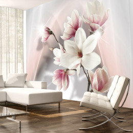 Fototapet vlies Magnolii albe