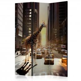 Paravan - Giraffe in the Big City [Room Dividers]