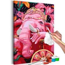 Pictura pe numere - Ganesha