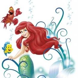 Sticker de copii - Arielle -colectia Disney