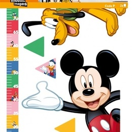 Sticker de perete ''Metru Mickey''