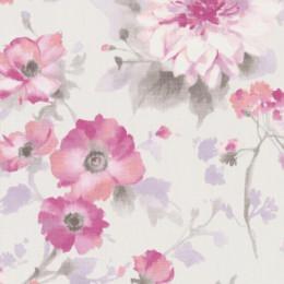 Tapet superlavabil cu motiv floral delicat