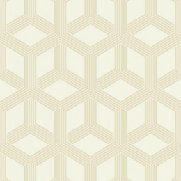 Tapet superlavabil geometric cu hexagoane